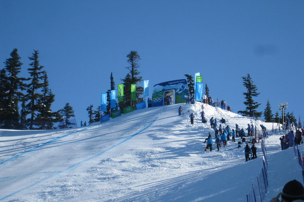 Men's Downhill starting gate in Whistler for Vancouver 2010 Olympics  - © vleitholf