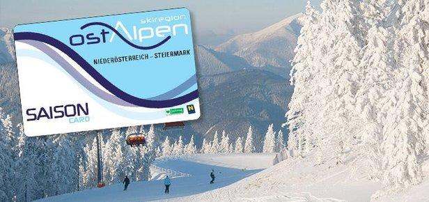 Ostalpen-Card: Sezónny skipas platný v 20 lyžiarskych strediskách východných Álp