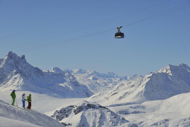 St. Anton - Det ultimate skistedet- ©TVB St. Anton am Arlberg / Josef Mallaun