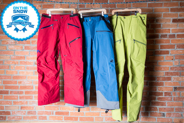 2015 men's ski pants Editors' Choice