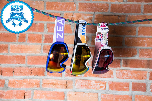 2015 women's goggle Editors' Choice