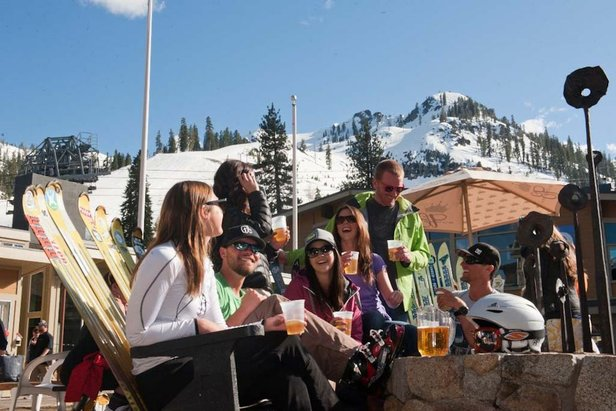 10 Ski Resorts Open in May, June & JulyLe Chamois and Loft Bar
