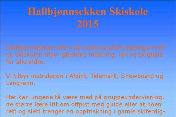 Nytt av Året - Skiskole på Hallbjønnsekken- ©Tor Einar Lie