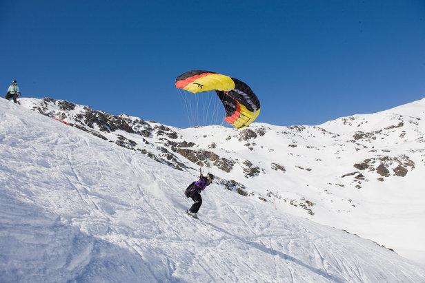 Speed riding en Andorre