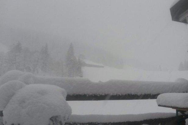 Schneebericht: Wintereinbruch in den Alpen – bis zu 100cm Neuschnee gefallen
