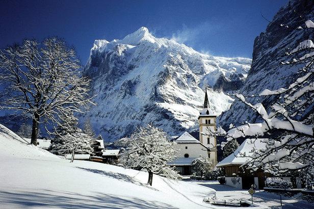 Lyžovanie v Grindelwalde