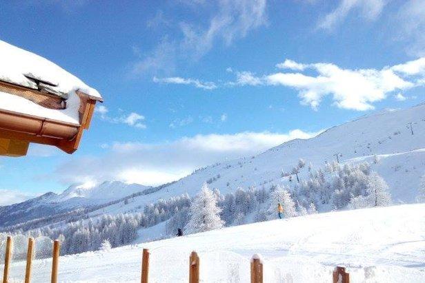Snowiest Resort of the Week (Woche 06/2015): Über zwei Meter Neuschnee im Sieger-Skigebiet ©Vialattea Facebook