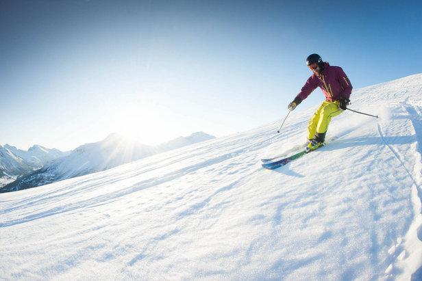 Over 2 meter snø mange steder- ©Eirik Aspaas