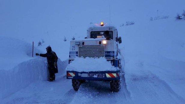 Raport śniegowy: ogromne masy śniegu we Francji, zima w Europie mocno trzyma ©Facebook Piau-Engaly