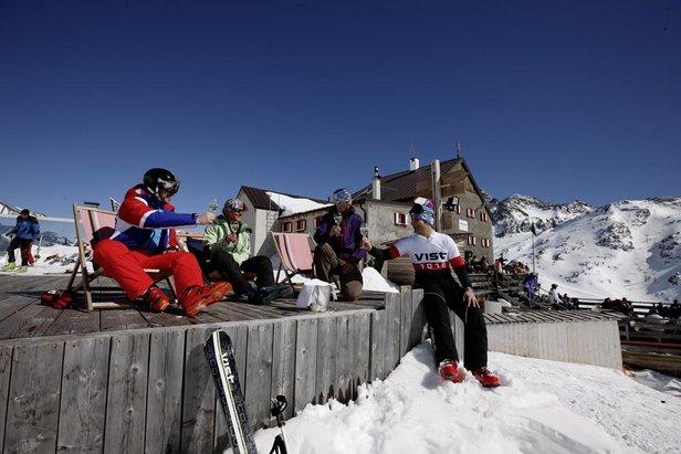 Tipy na jarní lyžovačku: 5 nejlepších lyžařských středisek v Itálii ©Funivie Ghiacciai Val Senales