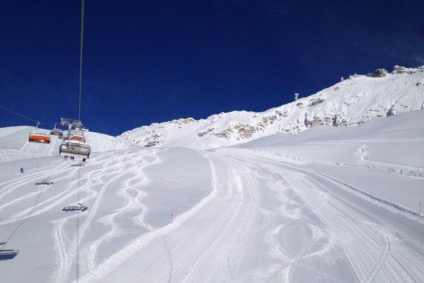 Lyžiarske stredisko na Zugspitze