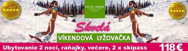SKI PARK Kubínska hoľa ***Hotel GREEN*** ©Klocok