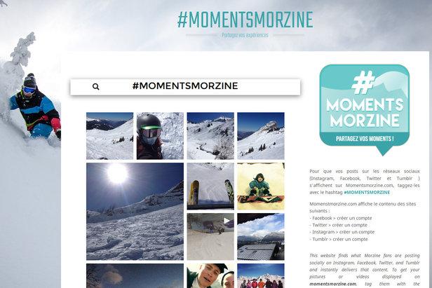 #MomentsMorzine, le hashtag pour partager vos moments/expériences à Morzine