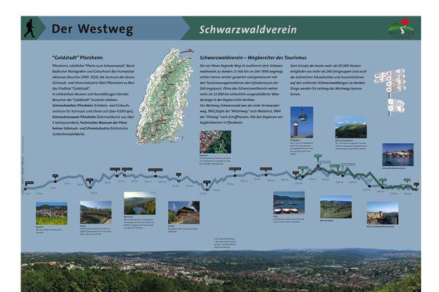 "Westweg ""Goldene Pforte""  - © STG"
