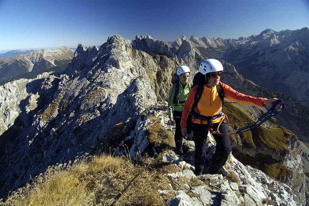 Klettersteig österreich : Klettersteige im kleinwalsertal in Österreich vorarlberg alpen
