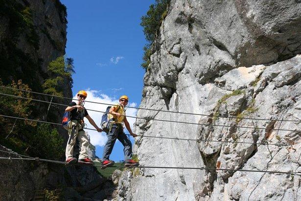 Vom einsamen Naturerlebnis zur Tourismus-Zugpferd: Die Wandlung der Faszination Klettersteig- ©Herbert Raffalt (www.raffalt.com)