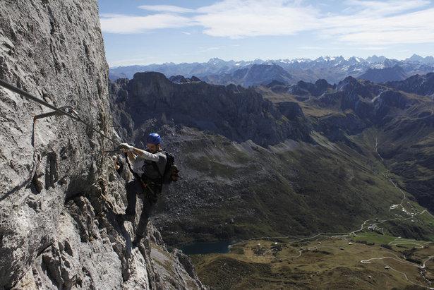 Klettersteig Franken : Reise: die neun schönsten klettersteige in Österreich deutschland