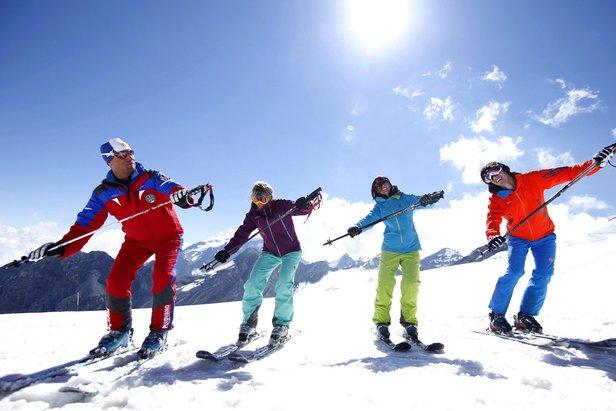 Passo Stelvio Pirovano, lezioni di sci
