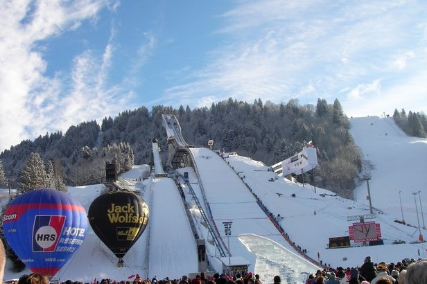 Skiing in Germany: So close, yet so overlooked- ©Garmisch