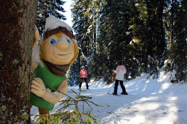 Das Skiparadies Zauchensee: Ein Berg für Sportler, einer für Familien