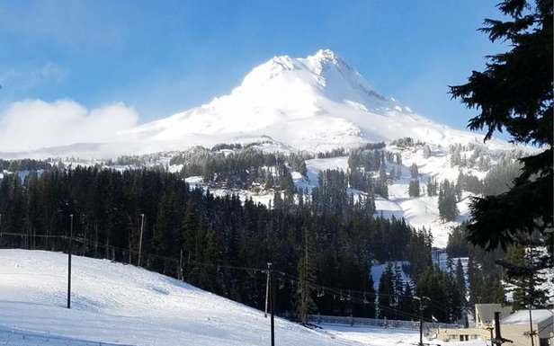 Mt. Hood on the verge of the 16/17 season awaiting a major winter storm.
