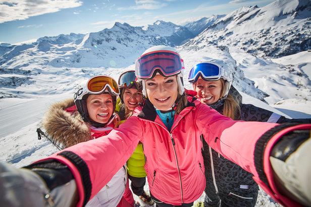 Skistar Maria Höfl-Riesch ist die Schneebotschafterin von Obertauern- ©TVB Obertauern