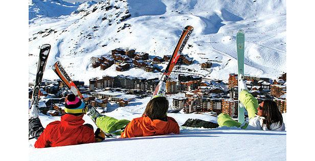 Ski de printemps à Val Thorens