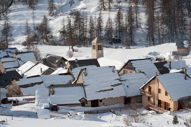 250 km Skivergnügen: Wintersport in Serre Chevalier