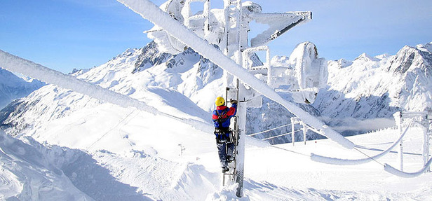 Chamonix sous la neige