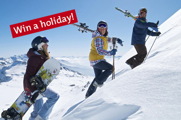 Win a Ski Holiday for Two in Laax