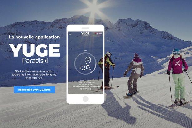 L'application Paradiski YUGE vous propose une expérience unique et personnalisée : sur les domaines skiables Les Arcs et Paradiski, Yuge sera votre guide touristique, un véritable assistant personnel à portée de mains.