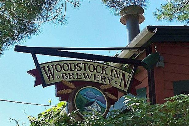 The Woodstock Inn and Brewery is a favorite among locals and tourists alike.