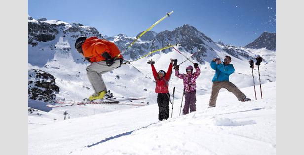 Ski de printemps à Tignes
