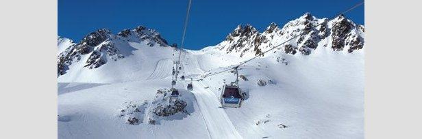 Esquiar en primavera: Kaunertal