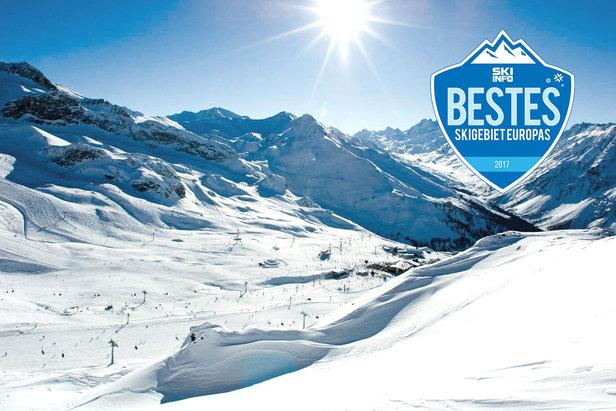 Das Skigebiet Ischgl-Samnaun war in unserem Winter-Voting 2016/2017 in fast allen Kategorien der Sieger!