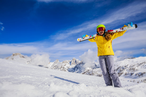 Skifahren für Anfänger: Der Einsteiger-Guide für Pistenneulinge- ©Fotolia.de ©Gorilla (#126092723)