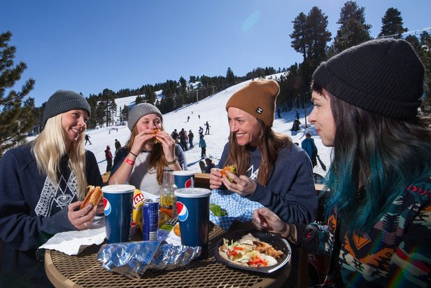 Spring is more laid back on the slopes, which translates to a much more enjoyable learning experience.  - © Big Bear Mountain Resort