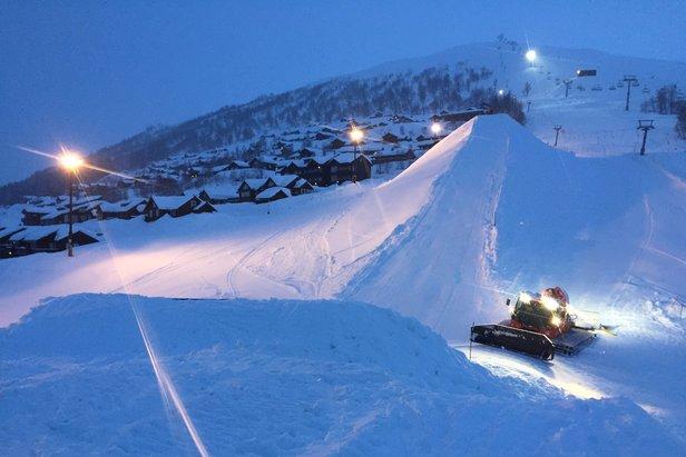 Mest snø i Myrkdalen- ©Myrkdalen Fjellandsby