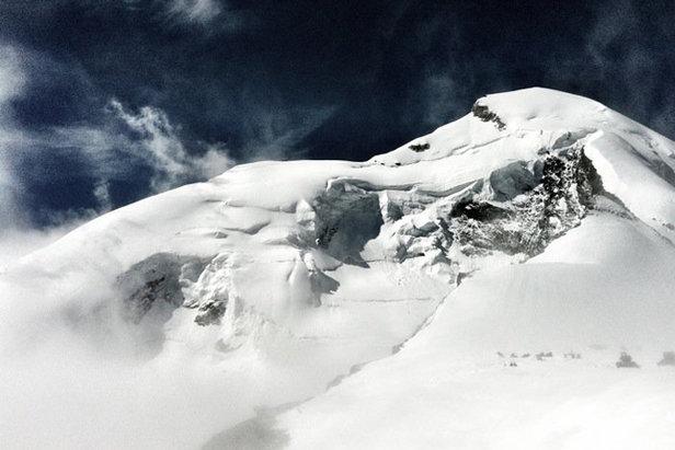 Miłośników freeride'u zachęcamy do wyprawy na Allalinhorn (4027 m)