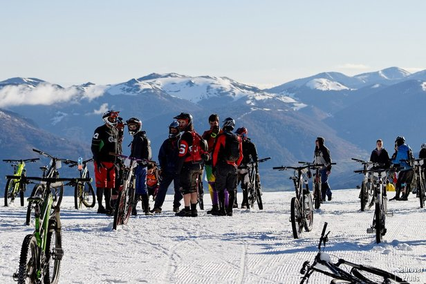 Snow Bike Contest d'Ax 3 Domaines