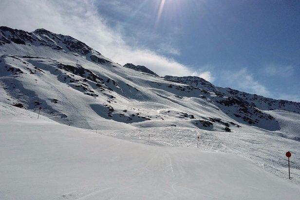 Díky severní a severozápadní expozici sjezdovek na Rendlu jsou sněhové podmínky dobré i dlouho po obědě  - © Tomasz Wojciechowski / Skiinfo