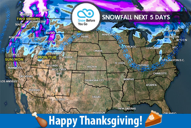 11.23 Snow Before You Go: Rain Over to Snow- ©Meteorologist Chris Tomer