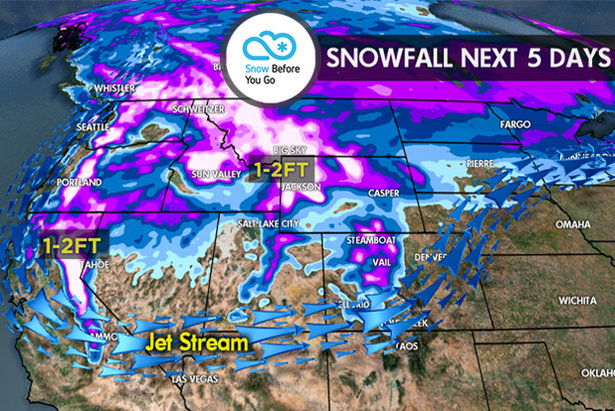 11.2 Snow Before You Go: 1-2 Feet for West- ©Meteorologist Chris Tomer