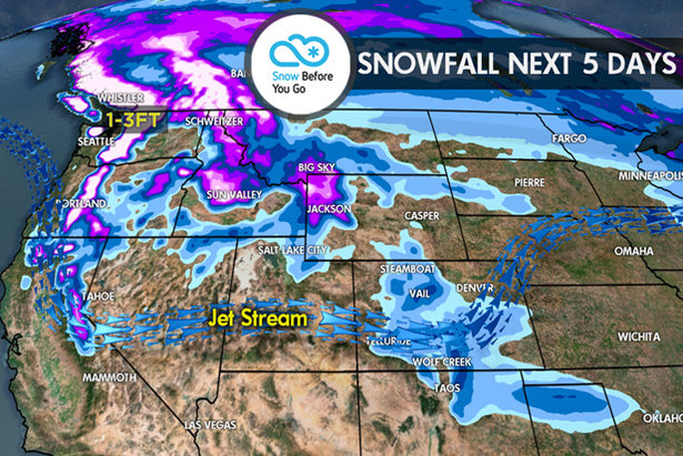 11.9 Snow Before You Go: Snowy Week for West- ©Meteorologist