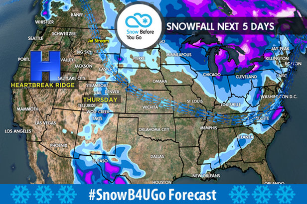 12.7 Snow Before You Go: Storm Track Favors Northeast- ©Meteorologist Chris Tomer
