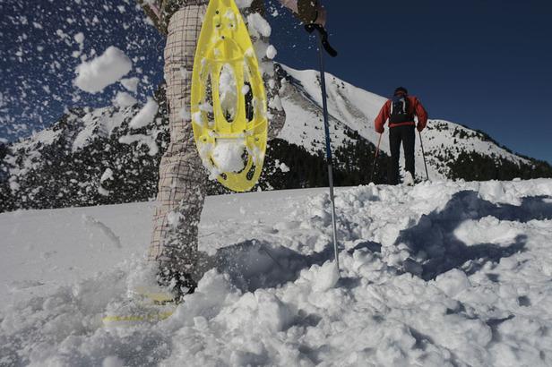Schneeschuhwandern im Val di Fiemme
