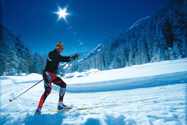 Steg Valüna im Fürstentum Liechtenstein: Wintertraum für Langlauffans
