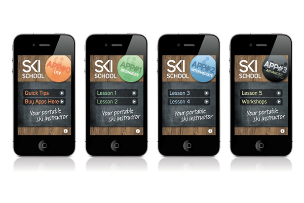 Learn To Ski On Your iPhone