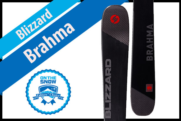 Blizzard Brahma: Men's 17/18 All-Mountain Front Editors' Choice Ski- ©Blizzard