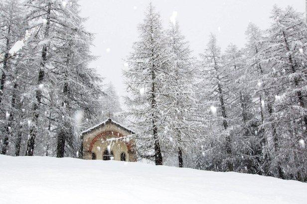 Cena in quota raggiungibile in funivia ©Courmayeur Mont Blanc Facebook